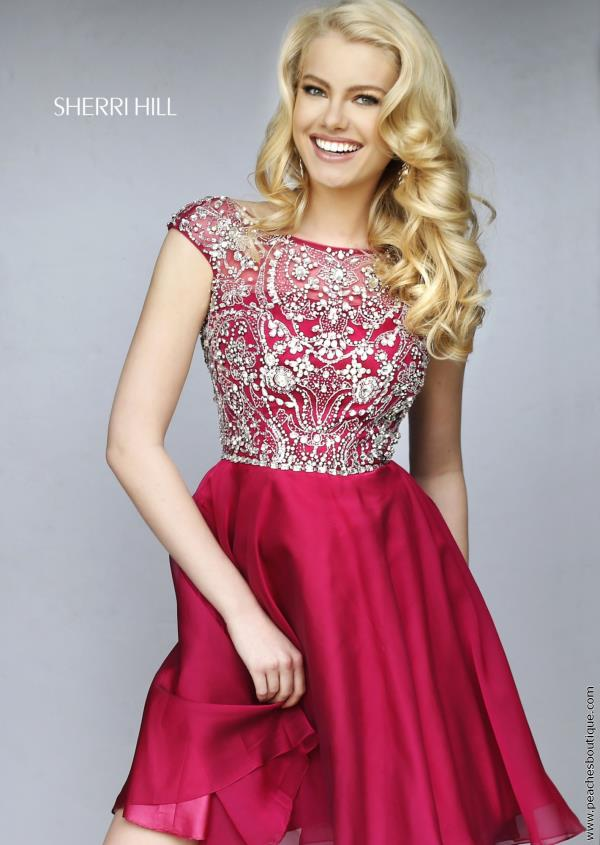Sherri Hill Short Semi Formal Dress 32320