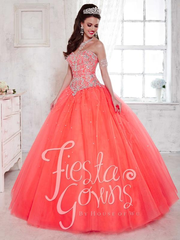 Tiffany Sweetheart Beaded Quinceanera Dress 56283