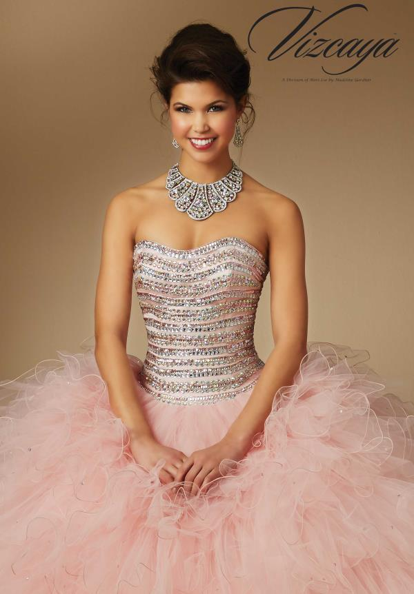 Amazing Beaded Vizcaya Dress 89046