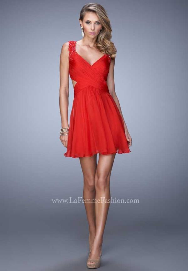 ae0dc71ea3 La Femme Short Dress 21834