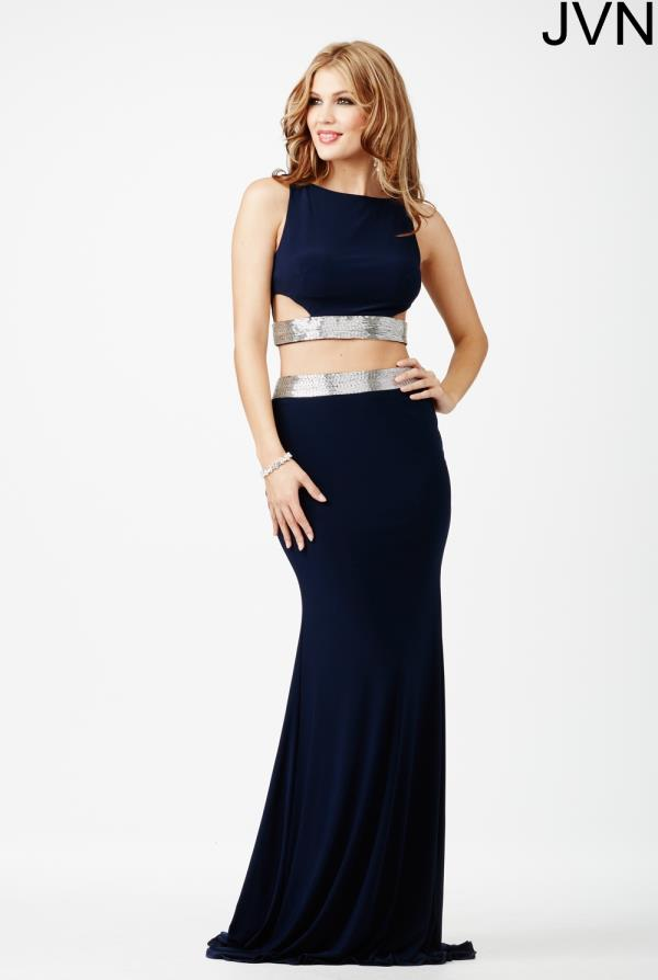 JVN by Jovani Two Piece Jersey Dress JVN28701