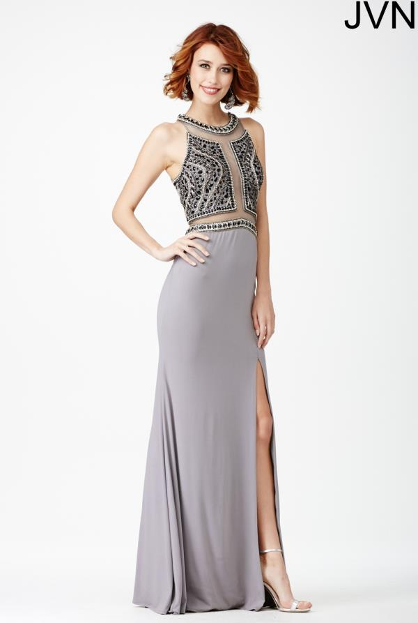JVN by Jovani Beaded Jersey Dress JVN29121
