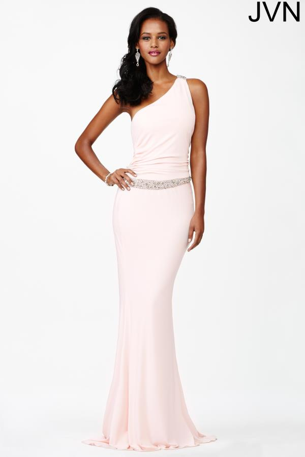 JVN by Jovani One Shoulder Dress JVN3064