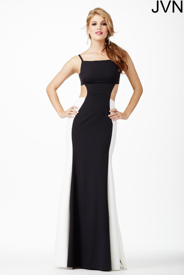 JVN by Jovani Elegant Black Dress JVN31458