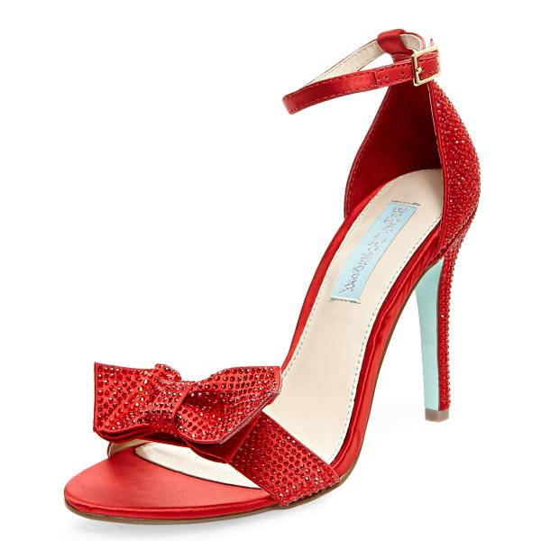 SB-Gwen Single Strap Heels by Betsey Johnson