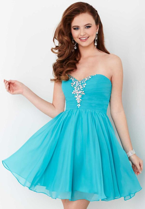 Strapless Flowy Hannah S Dress 27017