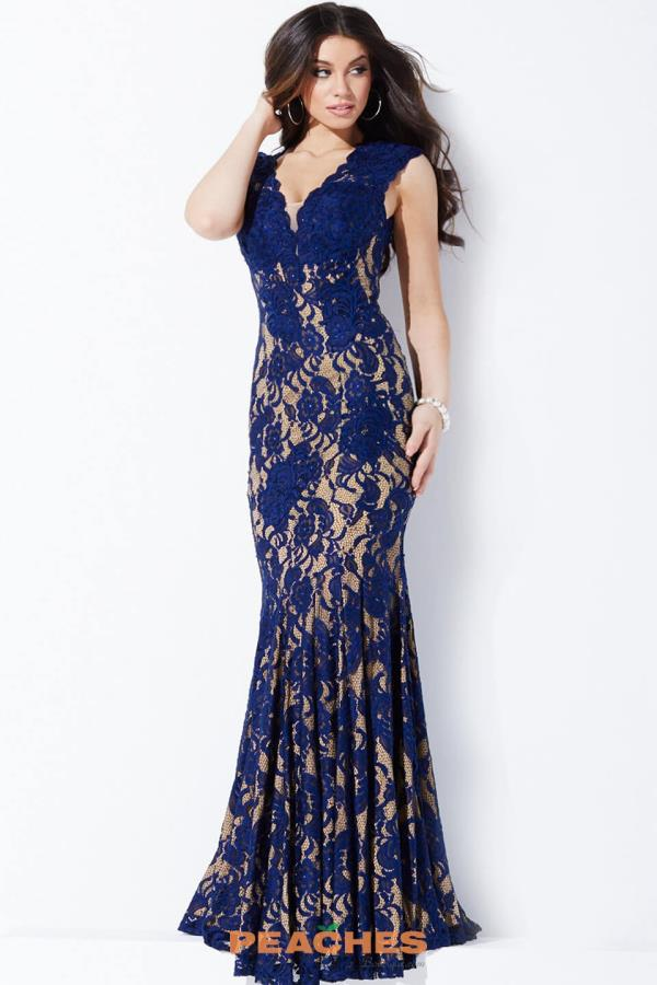 Sexy Lace Jovani Dress 28547
