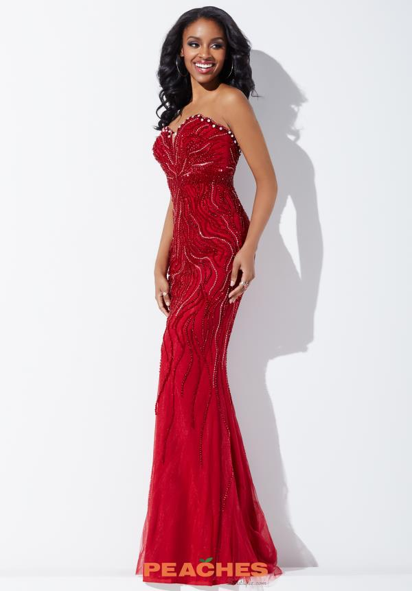 Sweetheart Beaded Jovani Dress 33692