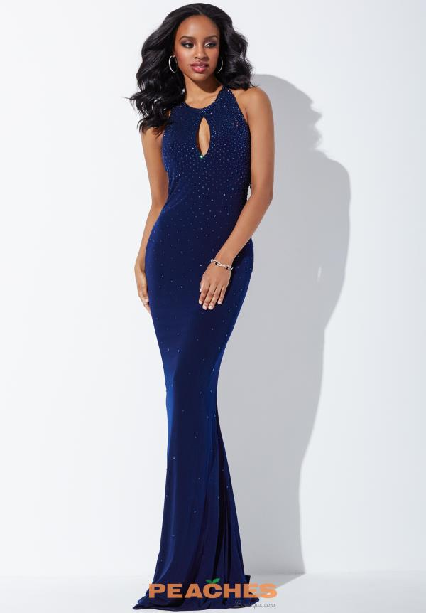 Jovani Long Fitted Dress 31893
