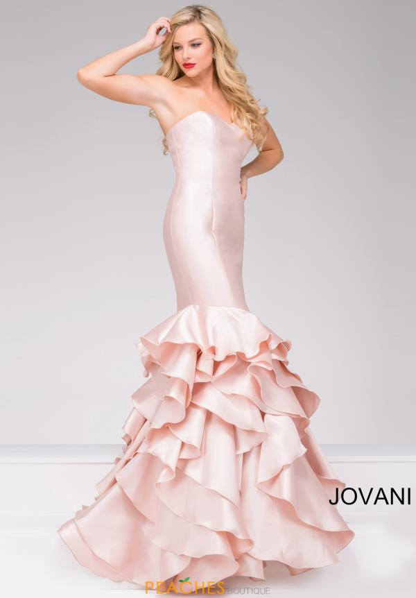 Strapless Meramid Jovani Dress 41622