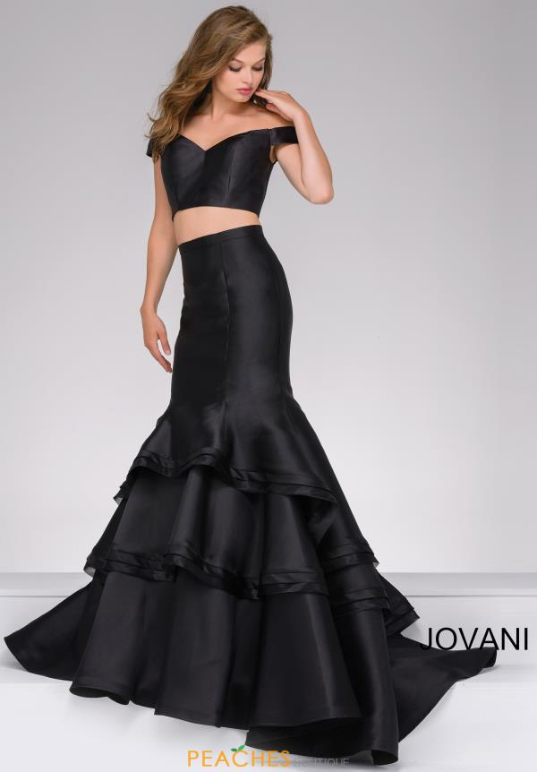 Jovani Two Piece Fitted Dress 46866