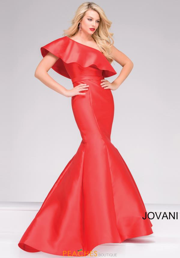 One Shoulder Mermaid Jovani Dress 48400