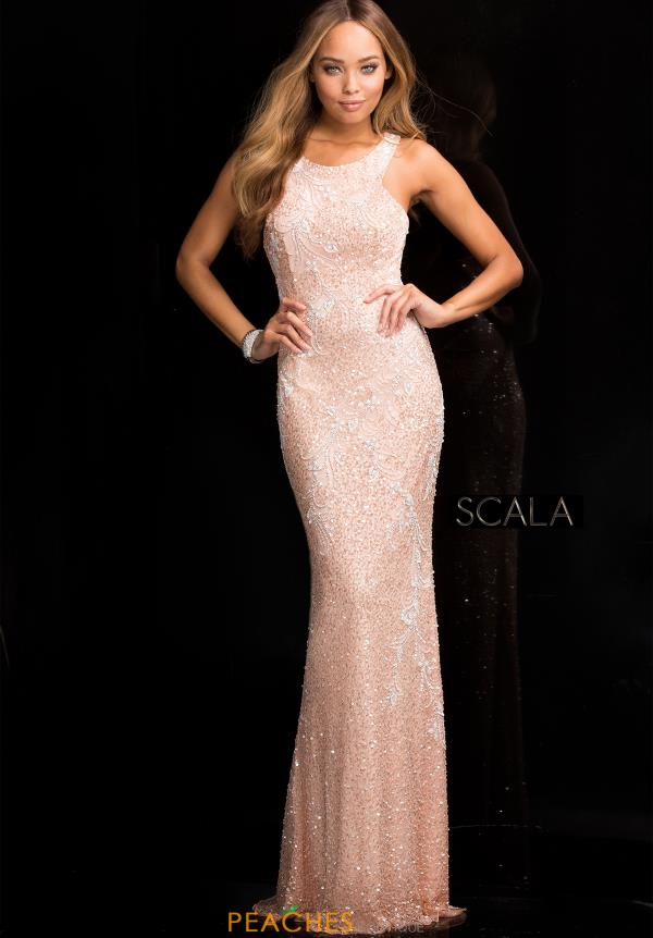Scala Sequins Fitted Dress 48703