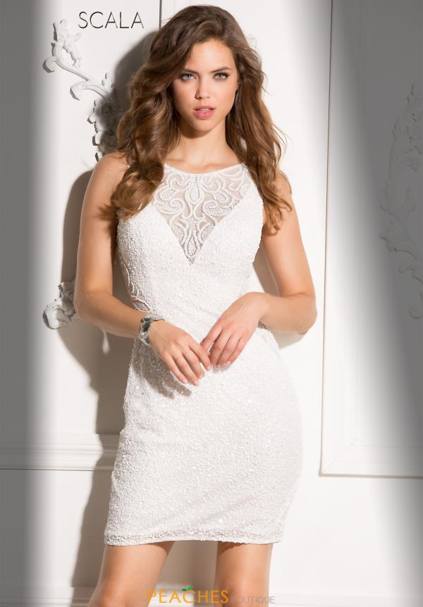 Short Beaded Scala Dress 48708