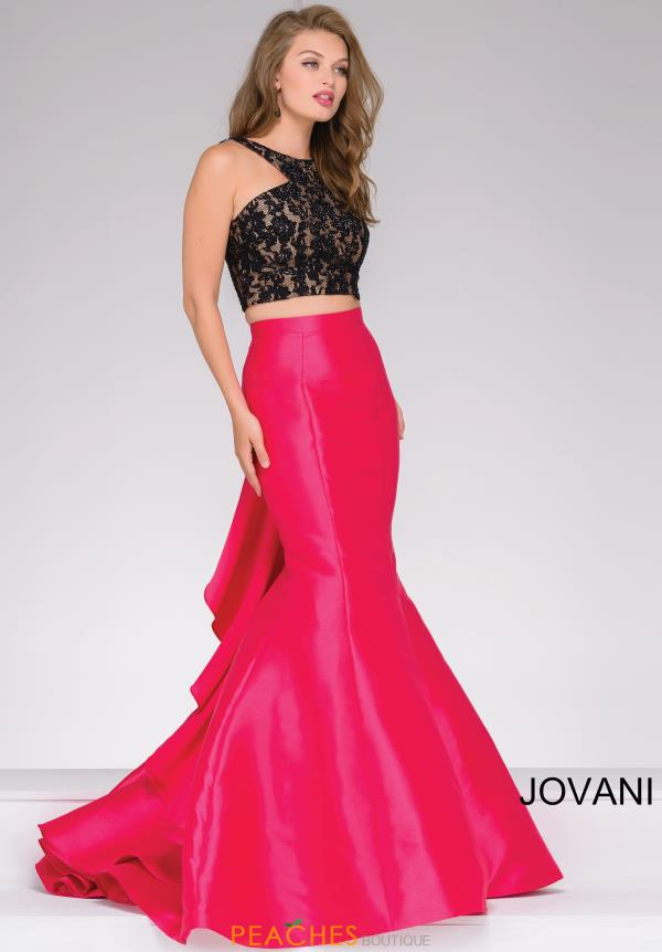 Jovani Two Piece Fitted Dress 42491