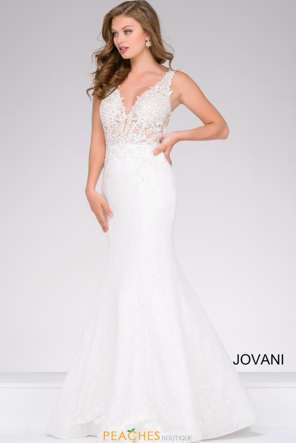 Long Lace Jovani Dress 47561