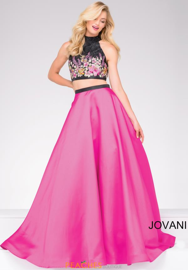 Jovani Two Piece A Line Dress JVN59350