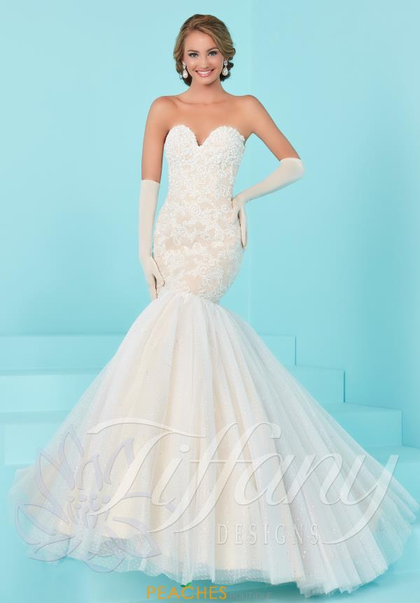 Tiffany Long Fitted Dress 16203