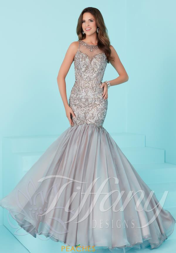 Tiffany Fitted Long Dress 16205