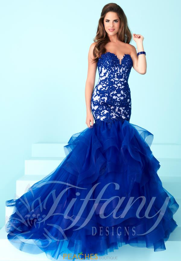 Tiffany Lace Fitted Dress 16248