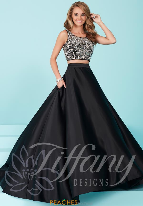 Tiffany Two Piece A Line Dress 16258
