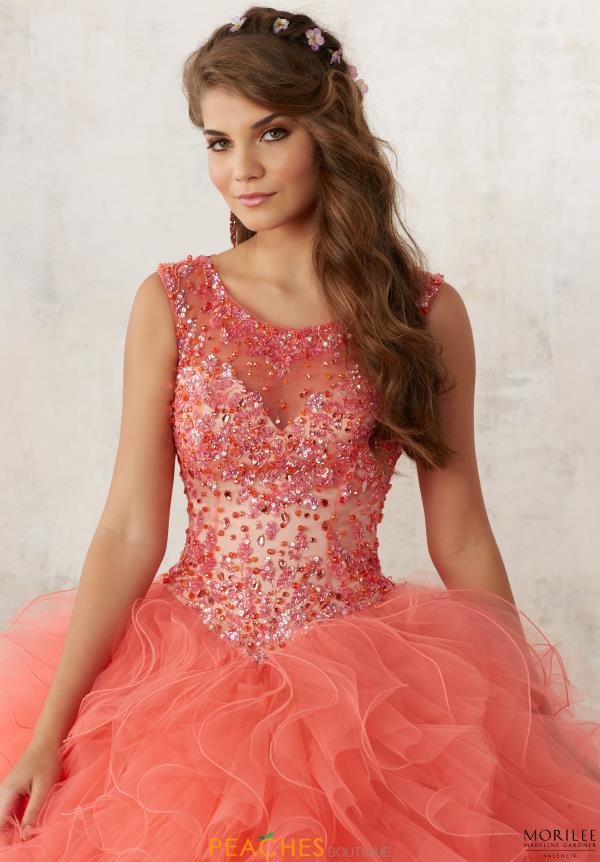 Valencia Beaded Ball Gown 60013