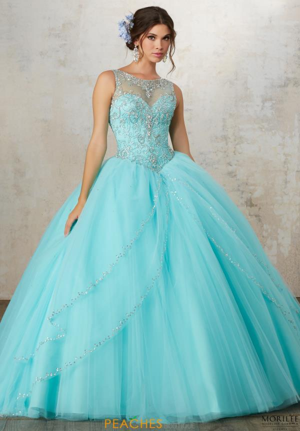 Vizcaya Tulle Skirt Ball Gown 89127