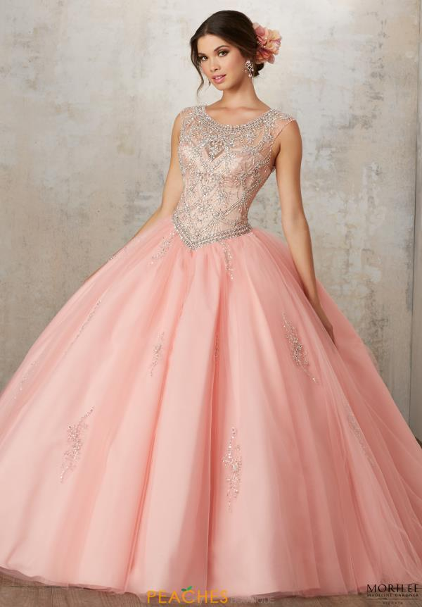 Vizcaya Tulle Skirt Ball Gown 89129