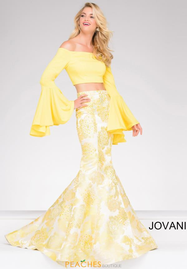 Jovani Mermaid Neoprene Dress 48922