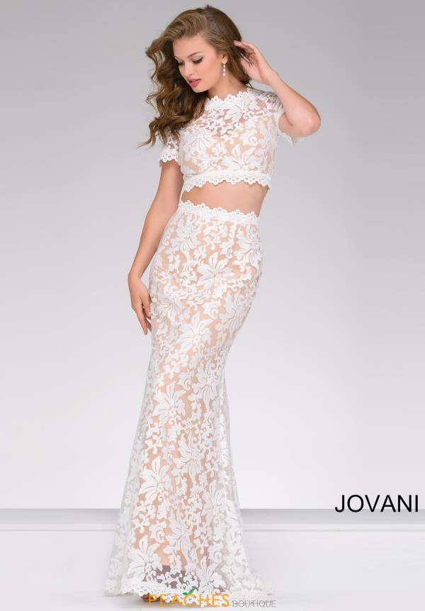 Jovani Fitted Lace Dress 50880