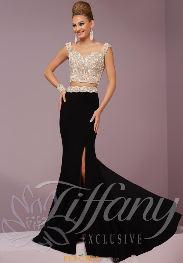 Tiffany Beaded Two Piece Dress 46080