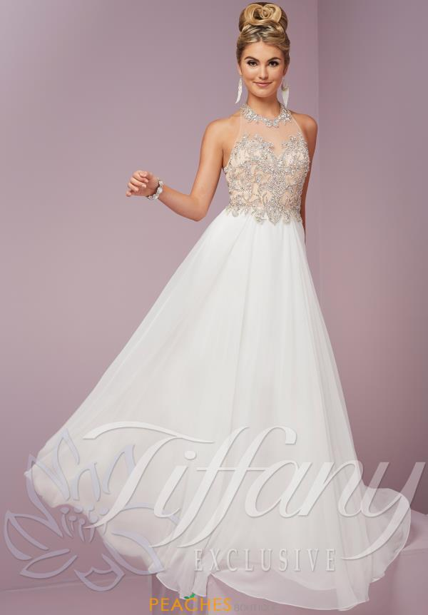 Tiffany Beaded Long Dress 46082