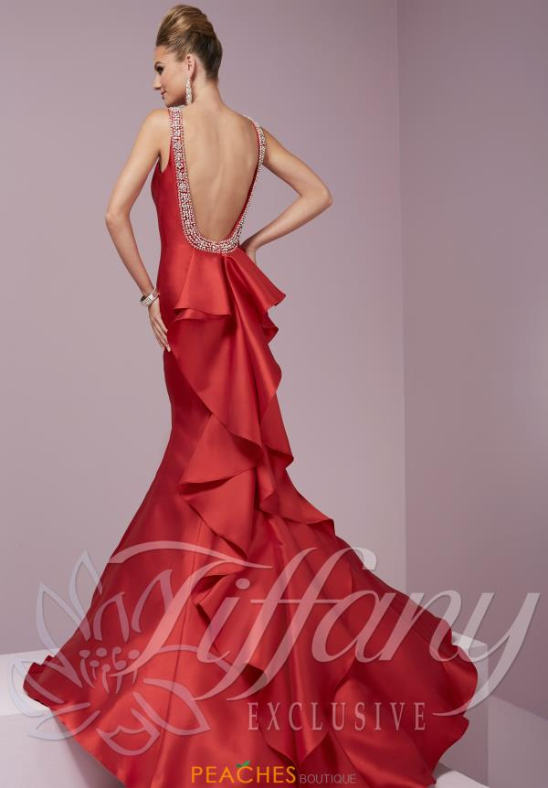 Tiffany Fitted Long Dress 46083