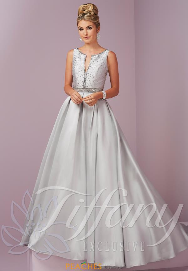Long A Line Tiffany Dress 46091