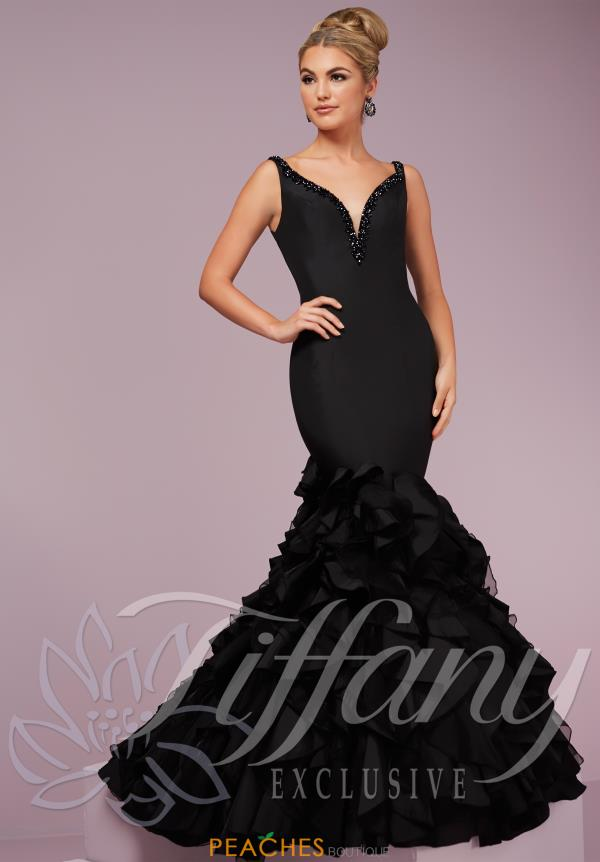 Tiffany Organza Mermaid Dress 46093