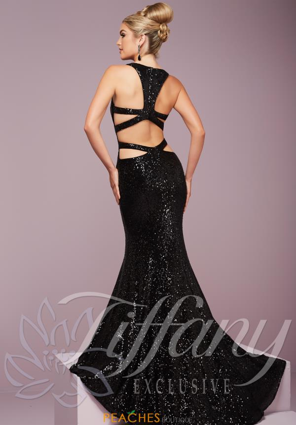 Sexy Open Back Tiffany Dress 46094