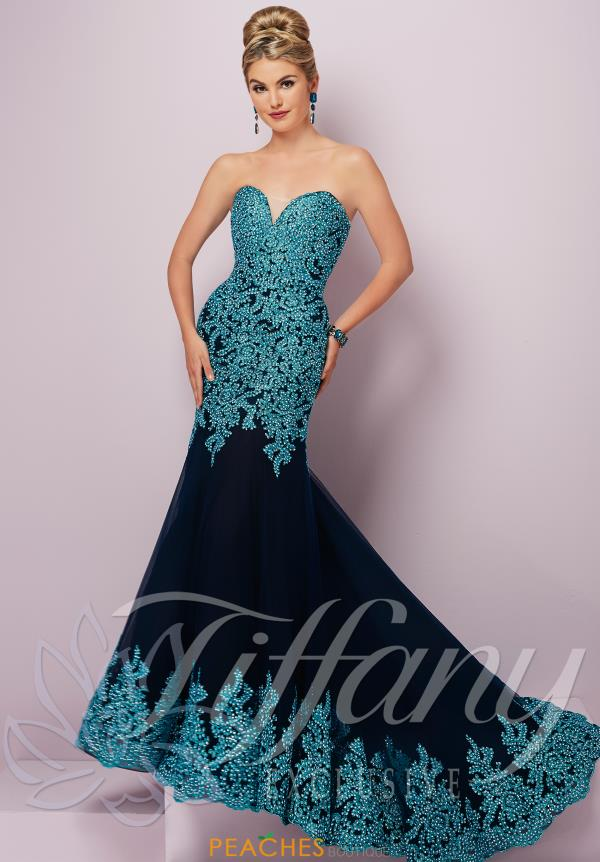 Tiffany Fitted Lace Dress 46096