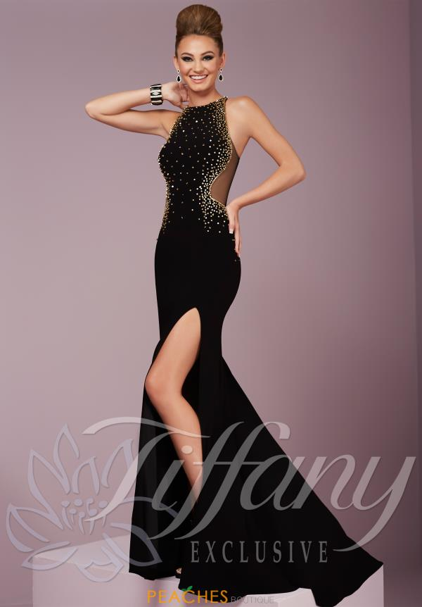 Tiffany Fitted Jersey Dress 46097