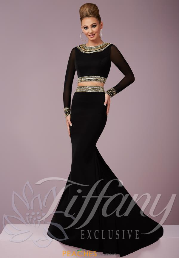 Tiffany Sleeved Two Piece Dress 46104