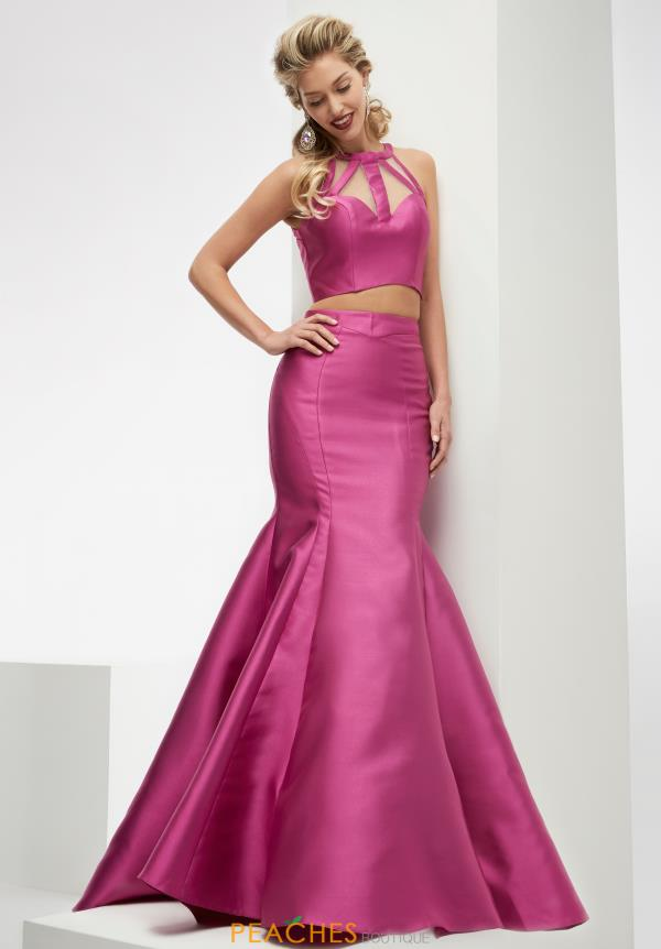 Two Piece Mermaid Jasz Couture Dress 5907