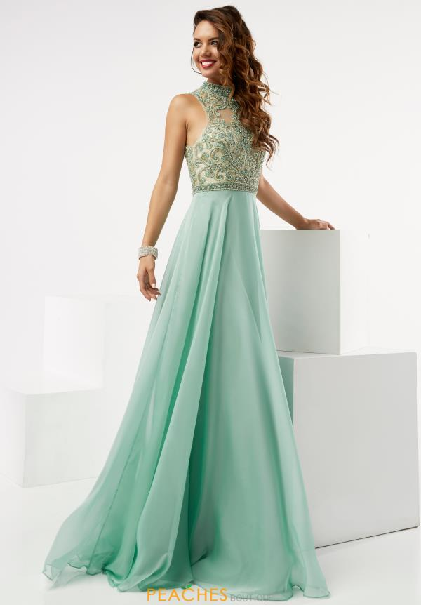 Long A Line Jasz Couture Dress 5979