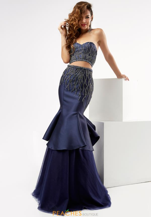 Jasz Couture Two Piece Mermaid Dress 5984