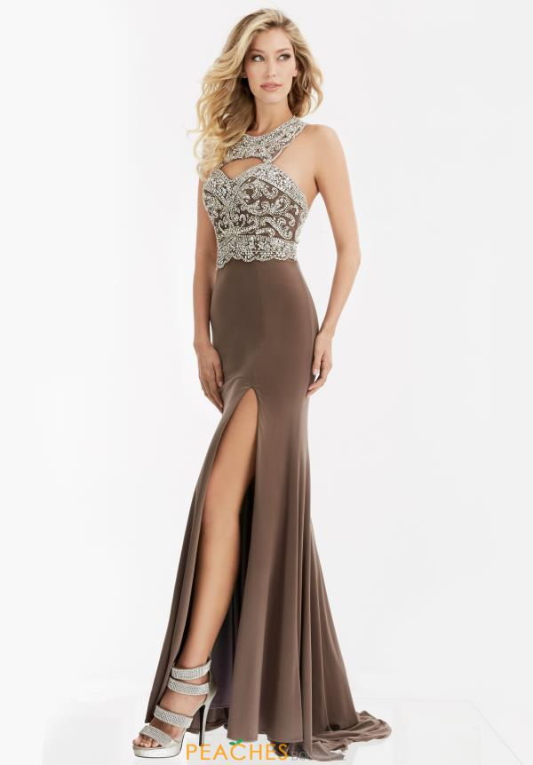 Jasz Couture Fitted Long Dress 5994
