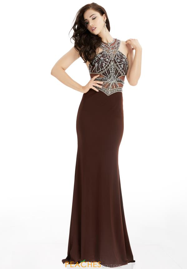 Jasz Couture Beaded Long Dress 5995