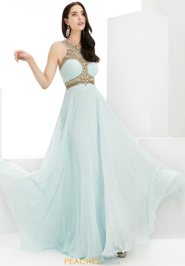 Long A Line Jasz Couture Dress 6004