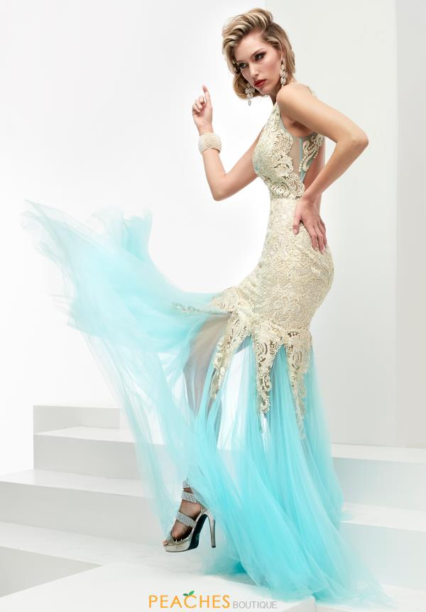 Long Fitted Jasz Couture Dress 6006