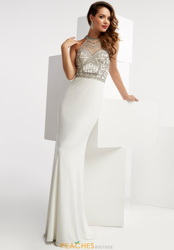 Long Jersey Jasz Couture Dress 6054