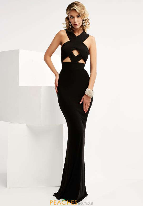 Long Jersey Jasz Couture Dress 6057