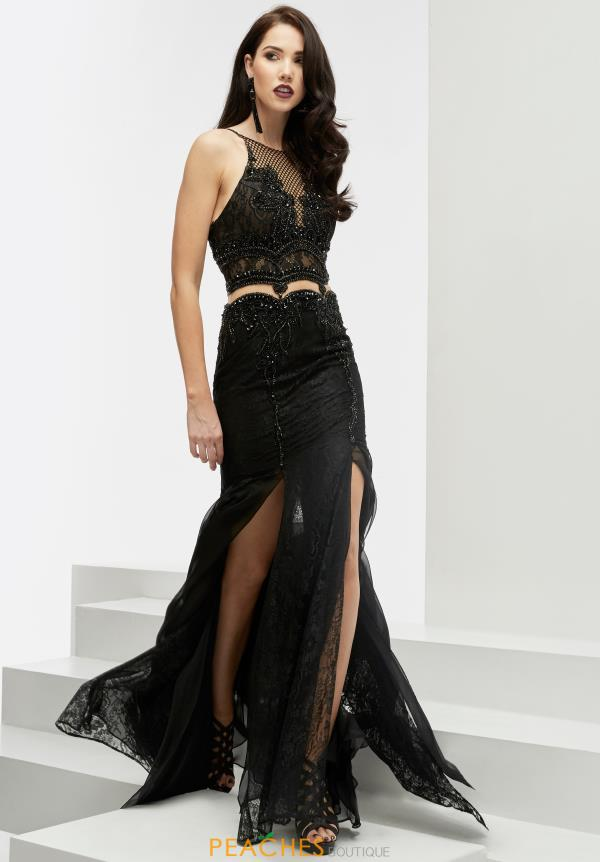 Jasz Couture Two Piece Fitted Dress 6067