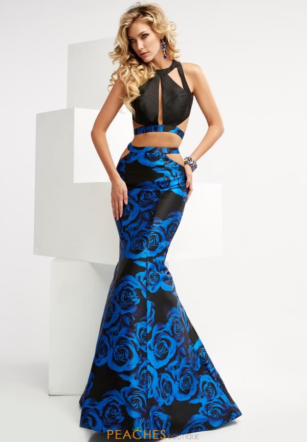 Jasz Couture Two Piece Fitted Dress 6068